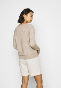 ONLY Petite - ONLLESLY KINGS - Jumper - beige/white melange - 2