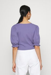 Monki - ULLA  - Print T-shirt - lilac purple medium dusty - 2