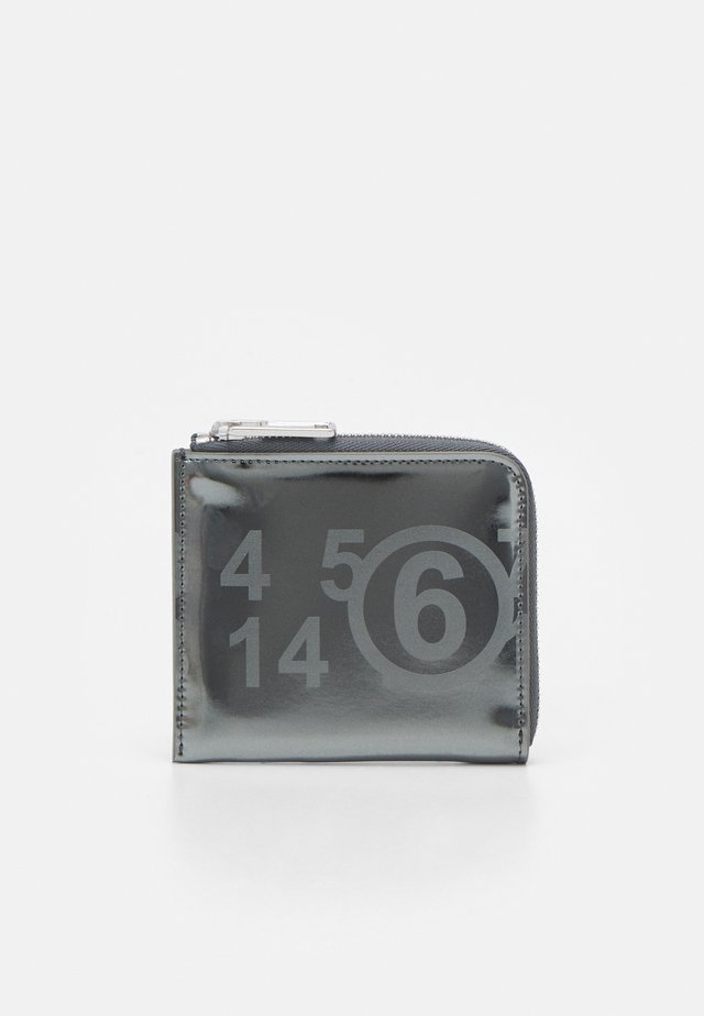 PORTAFOGLIO - Portefeuille - metallic dark grey