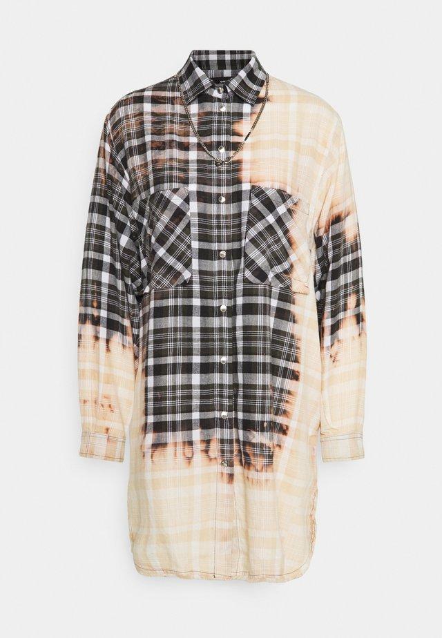 SUPER G DRESS - Camicia - grey