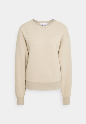 BASIC CREW NECK  - Sweatshirt - beige