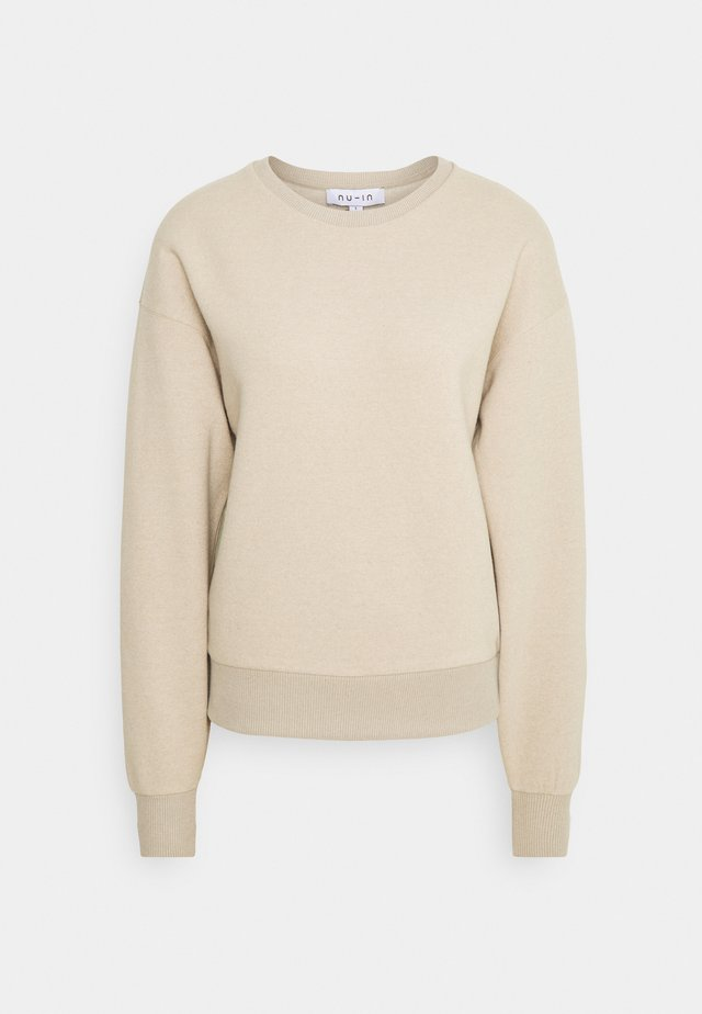 BASIC CREW NECK  - Collegepaita - beige