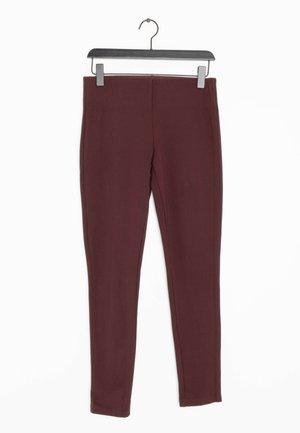 Leggings - Trousers - red