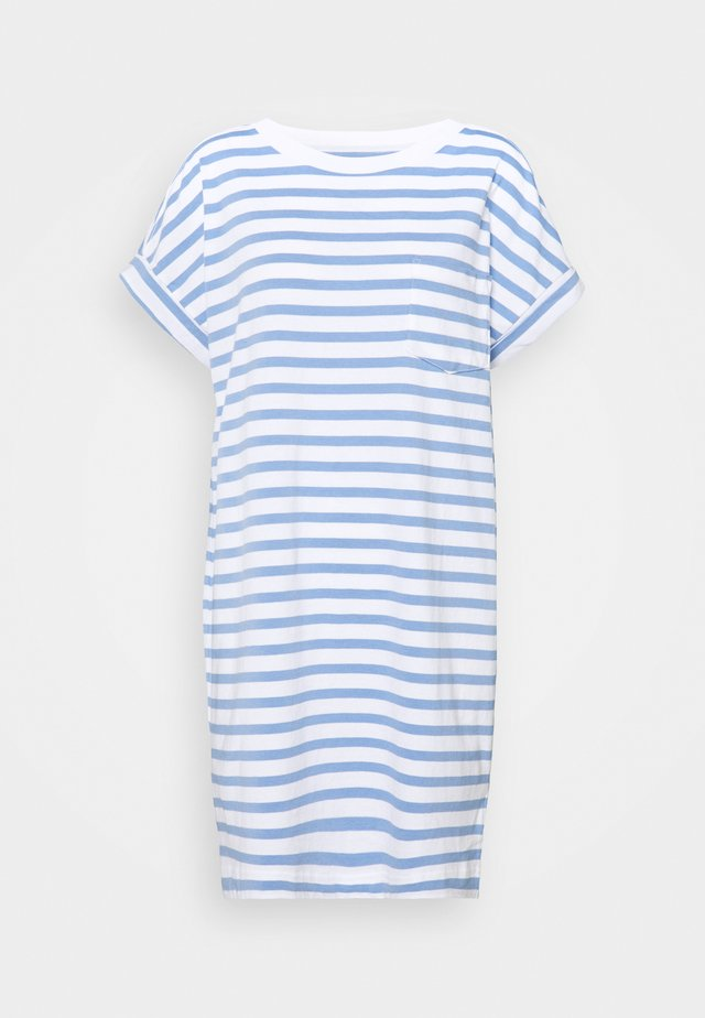 TEE - Jerseykleid - blue