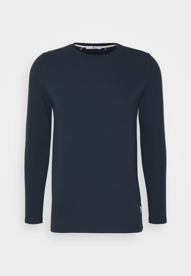 LONG SLEEVED - Collegepaita - navy