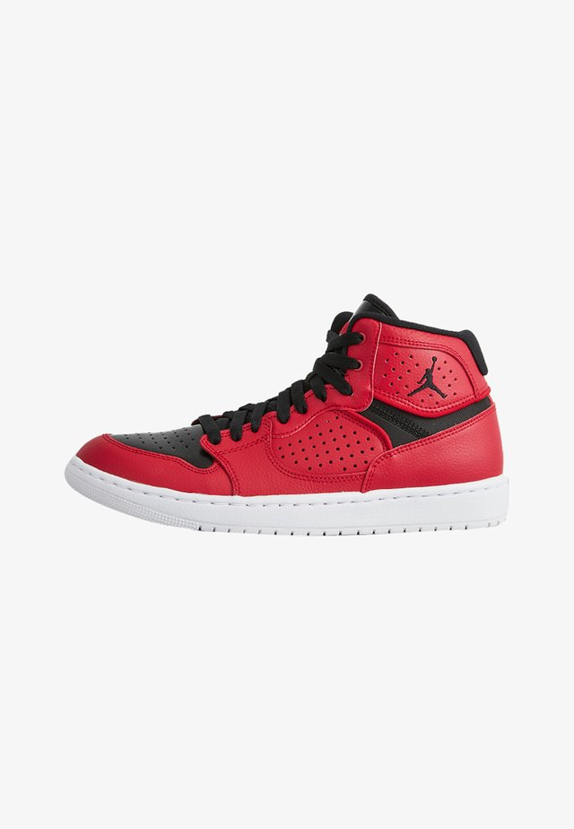 JORDAN ACCESS - High-top trainers - gym red/black-white