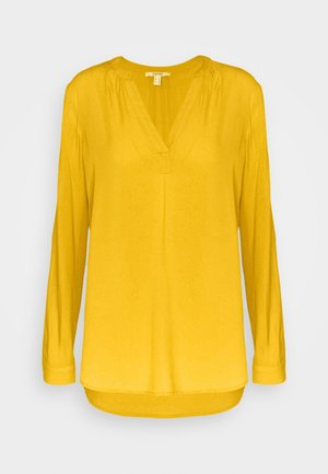 CORE FLUID  - Blouse - brass yellow