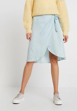 FIDAN - Wrap skirt - mint