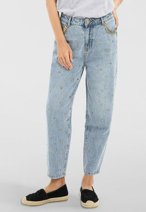 Relaxed fit jeans - denim blau