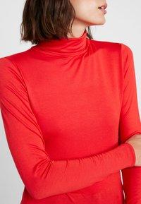 Soaked in Luxury - HANADI ROLLNECK  - Long sleeved top - red - 5