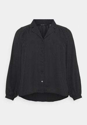 VMPOEL - Button-down blouse - black