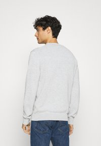 Lacoste - Stickad tröja - argent chine - 2