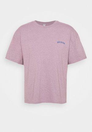 MARLED LOGO EMBROIDERED TEE UNISEX - Basic T-shirt - purple