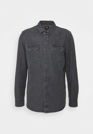 RIDER - Košile - dark grey mele