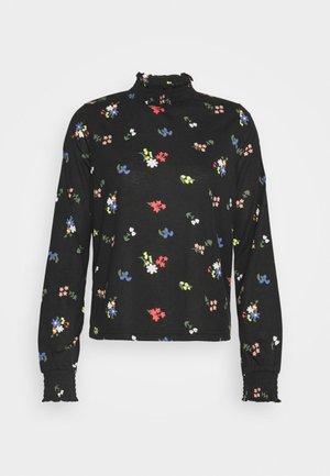 PCANINE SMOCK  - Long sleeved top - black