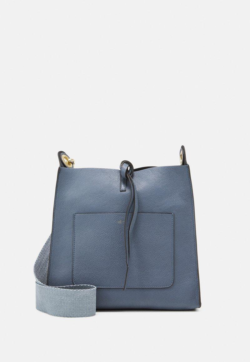 Abro - RAQUEL SET - Across body bag - blueberry