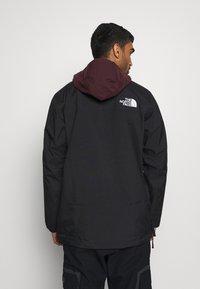 The North Face - SILVANI ANORAK - Ski jacket - bordeaux/black - 2