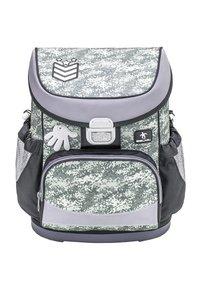 Belmil - SET - School bag - mottled grey - 2