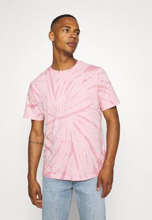 SPIRAL TIE DYE - T-shirt basic - light pink