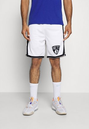 NBA BROOKLYN NETS SWINGMAN - Short de sport - white