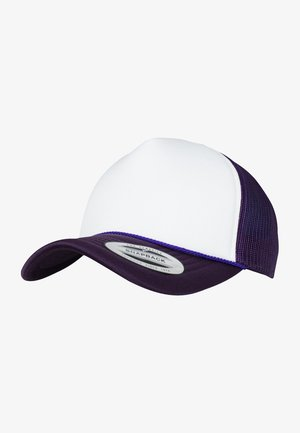 Cap - purple/ white