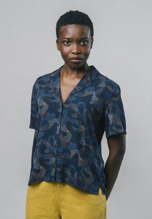 BEM - Button-down blouse - blue