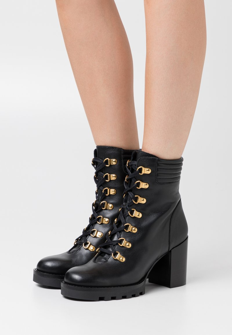 Minelli - Lace-up ankle boots - noir