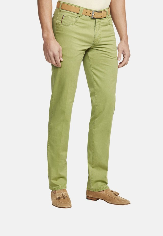 DIEGO - Chinos - light green