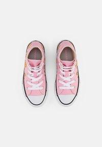 Converse - CHUCK TAYLOR ALL STAR SUNFLOWER - Zapatillas altas - pink/harbor teal/white - 3