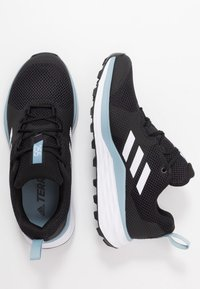 adidas Performance - TERREX TWO - Løbesko trail - core black/footwear white/ash grey - 1