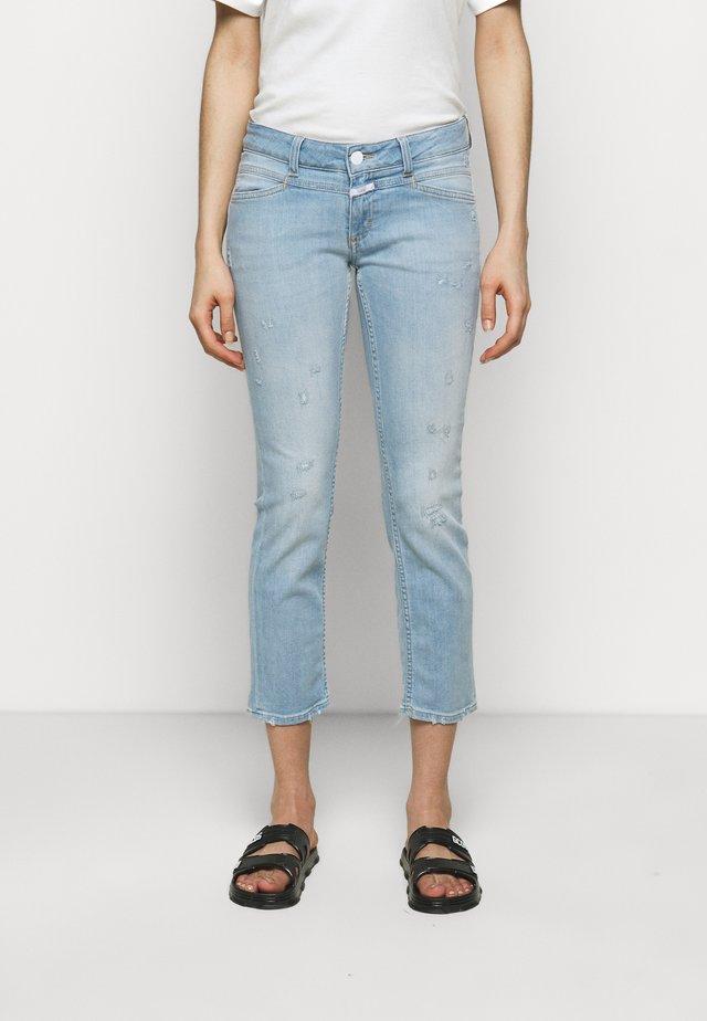STARLET - Jeans slim fit - light blue