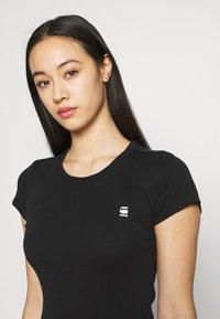 G-Star - EYBEN SLIM 2 Pack - T-shirt basic - black/white - 4