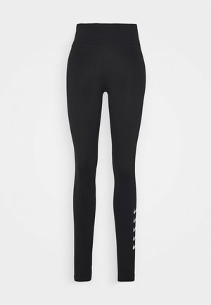 RUN - Leggings - black/silver