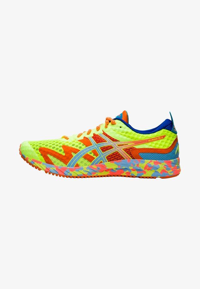 Chaussures de running neutres - safety yellow/artic sky