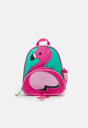 ZOO PACK FLAMINGO - Rucksack - pink/green