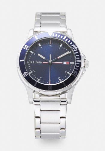 BOYS WATCH - Watch - silver-coloured/blue