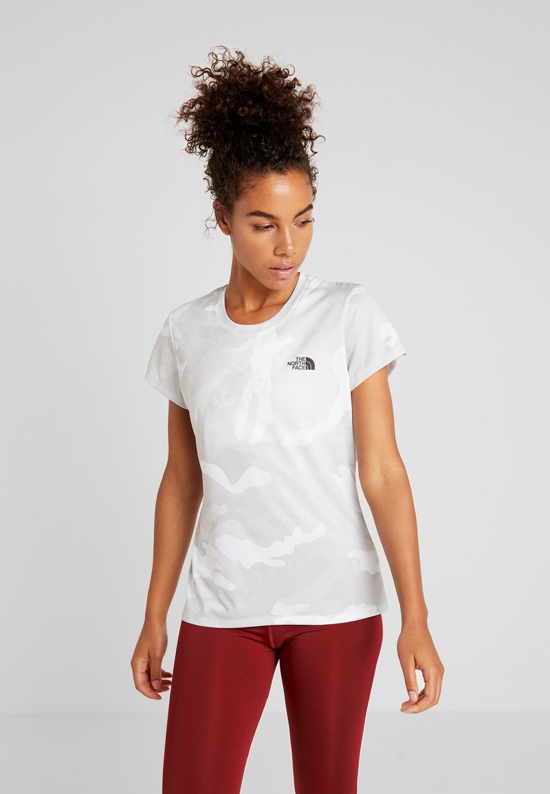 The North Face - WOMENS REAXION CREW - Basic T-shirt - white