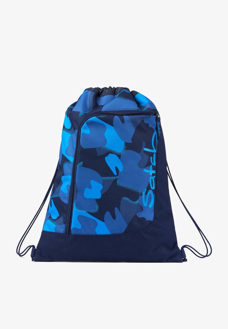 Satch - Drawstring sports bag - blue light blue1