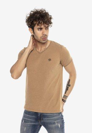 TORRANCE - Print T-shirt - caramel