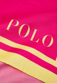 Polo Ralph Lauren - GIANTPP - Huivi - sport pink/multicoloured - 3