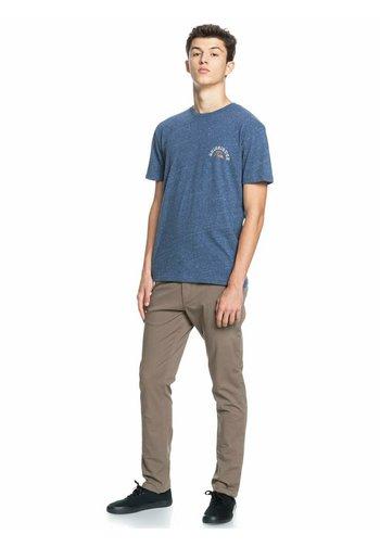 Print T-shirt - sargasso sea heather