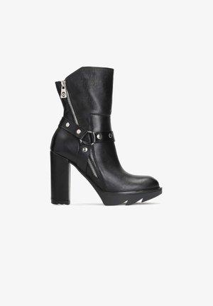 BALIN  - Kotníková obuv na vysokém podpatku - black