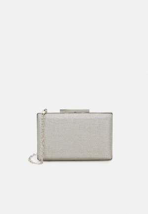 BOX BAG FOREVER - Clutch - silver-coloured