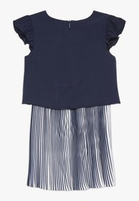 3 Pommes - CUTRE DRESS PLEATED BOTTOM - Day dress - blue night - 1