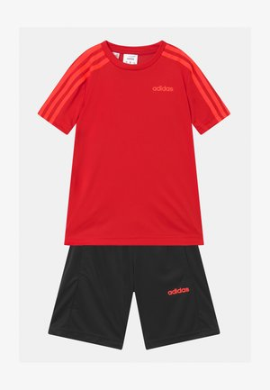 SET UNISEX - Sports shorts - scarlet/solar red/black