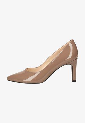 High heels - fur