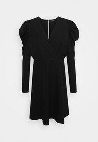 Selected Femme - SLFPRETTY DRESS  - Denní šaty - black - 5