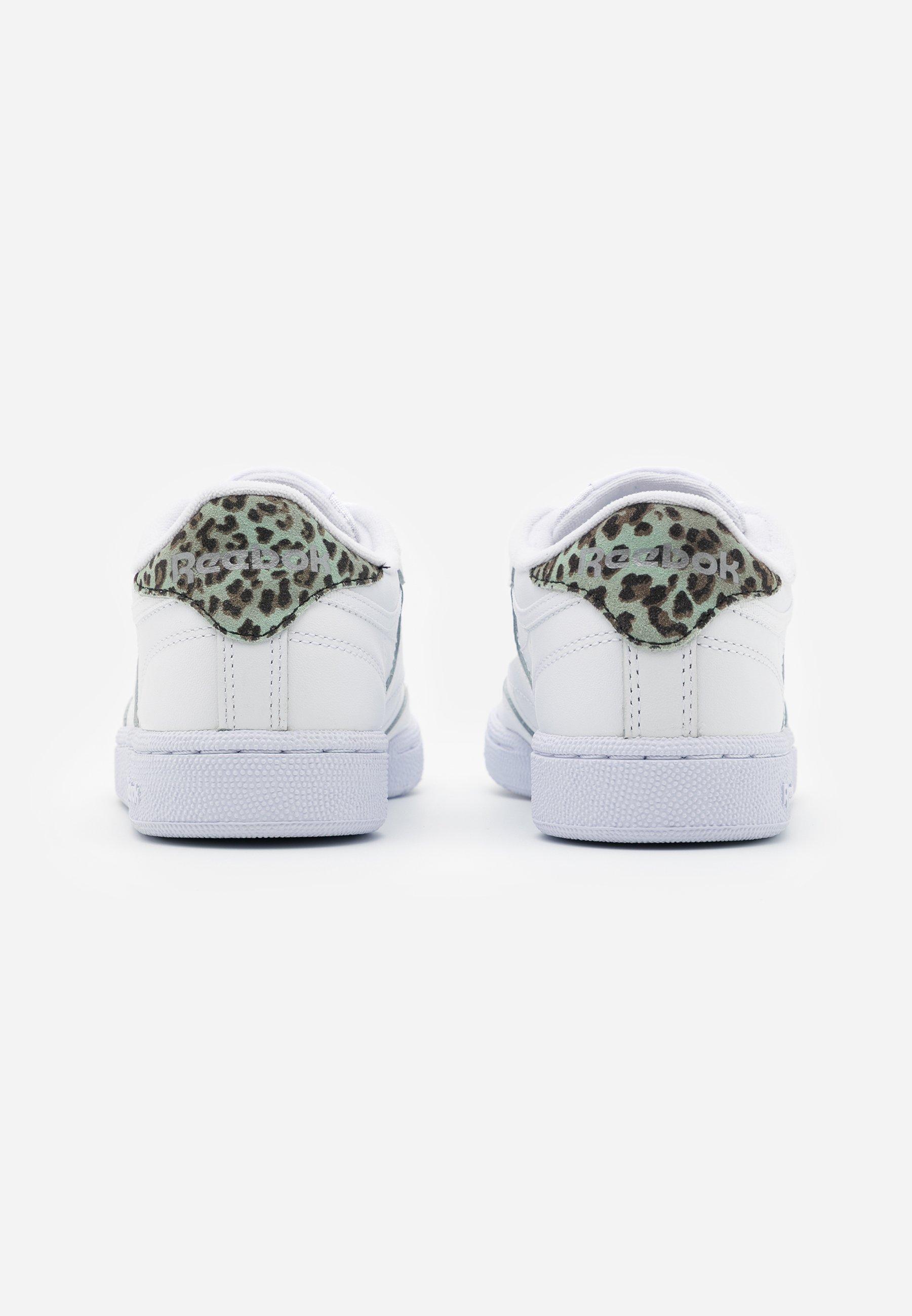 Reebok Classic CLUB C 85 Sneaker low white/silver metallic/weiß