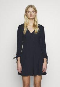 Ghost - CHARLINE DRESS - Robe chemise - dark blue - 0