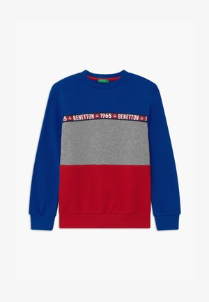 BASIC BOY - Sweater - blue/red
